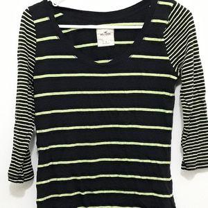 Hollister 3/4 sleeve t-shirt